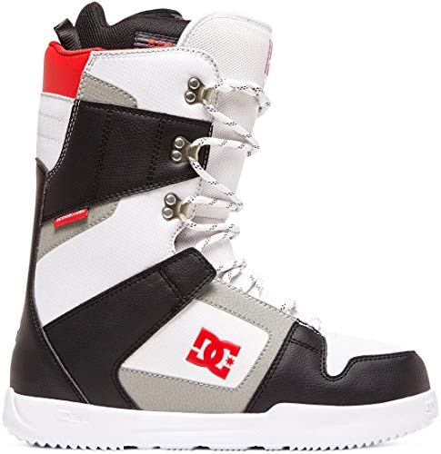 DC Phase Snowboard Boots Mens Sz 10 Black/White (Snowboard Size 10 Boots)