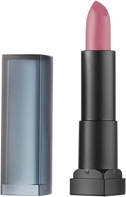 Maybelline New York - Color Sensational, Pintalabios Mate Hidratante, Tono 10 Nocturnal Rose: Amazon.es: Belleza
