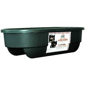 "APOLLO PLASTICS 30"" Green 2X4 Deck and Fence Railing Planter"