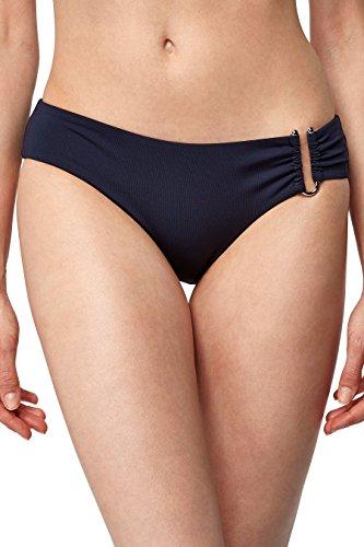 next Mujer Braguita De Bikini Detalle Metal Corte Regular Azul Marino
