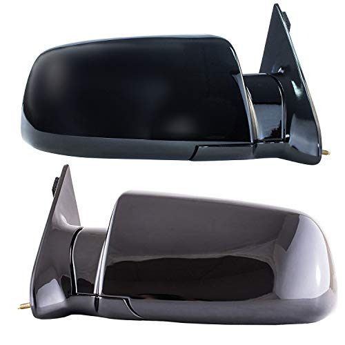 C1500 Mirror Chevrolet - Driver and Passenger Side Mirrors Manual Operated for 92-94 Chevy Blazer, 92-99 Suburban, 92-2000 GMC Yukon, 95-2000 Tahoe, 88-98 C1500 C2500 C3500