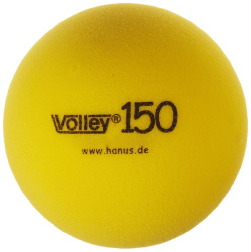 Volley Foam 65kg Uncoated Ball, Yellow, 6'' Dia. by Volley