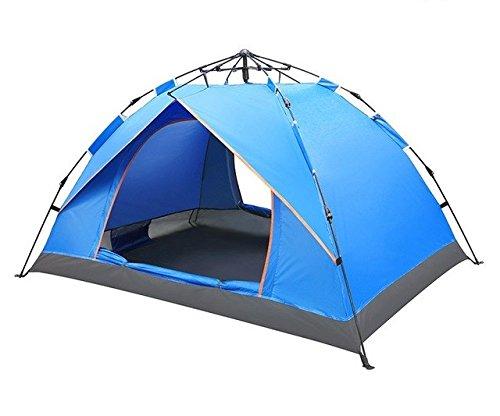 Bestwind 2-4 Personen Ultraleicht Große Camping Winddicht Wasserdicht Zelt Im Freien Automatische Hydraulische Zelt