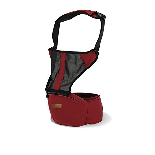 Top Baby Sling Baby Backpack Hip Seat Red - 4