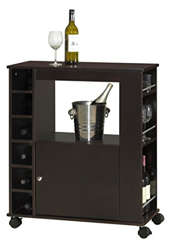 Baxton Studio Ontario Modern And Contemporary Wood Dry Bar And Wine Cabinet Dark Brown Buy