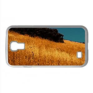 Fields of Gold Watercolor style Cover Samsung Galaxy S4 I9500 Case (Autumn Watercolor style Cover Samsung Galaxy S4 I9500 Case)