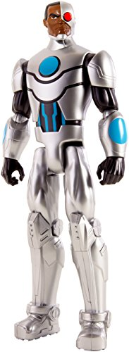 - DC Comics Justice League Cyborg Action Figure, 12
