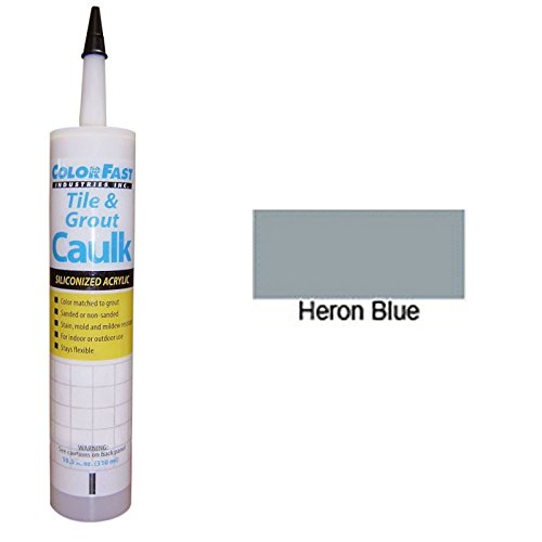 Hydroment Color Matched Caulk by Colorfast (Unsanded) (H171 Heron Blue) (Heron Tile)