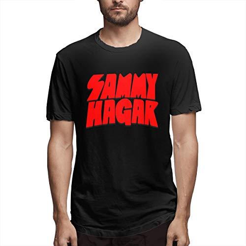 (Troom Hagar Sammy Van-Halen Men Leisue Shirts L Black)
