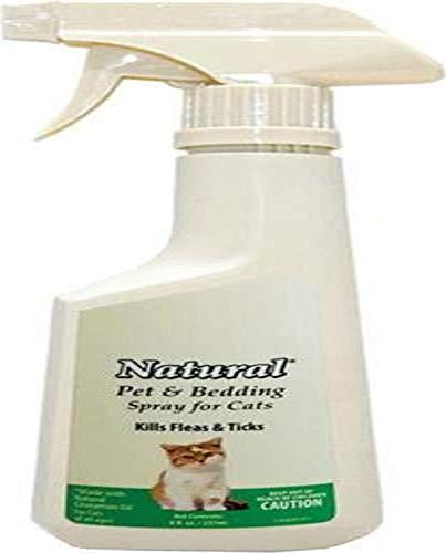 Natural Chemistry De Flea Cat Pet & Bed Spray, 8 oz