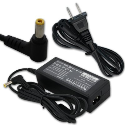 (65W AC Power Adapter/Battery Charger for Dell PA-1700-02 Inspiron 1000 1200 1300 2200 3000 3500 B120 B130 Latitude 110L 120L 4100D LXP D300LT PP08S PP10S PP21L PPI TS30H TS30T)