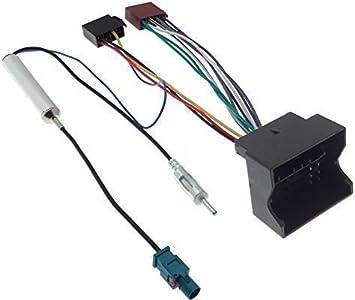 Citroen Peugeot adaptador de radio Fakra DIN, Adaptador de antena