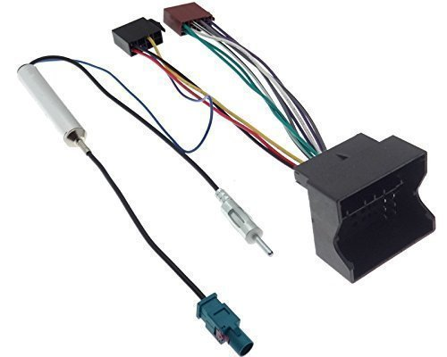 Radioadapter Quadlock ISO CITROEN PEUGEOT Fakra Adapter ...