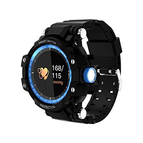 Kanzd GW68 Smart Watch Sports Outdoor IP68 barometer Thermometer altimeter Sports Bracelet (B)