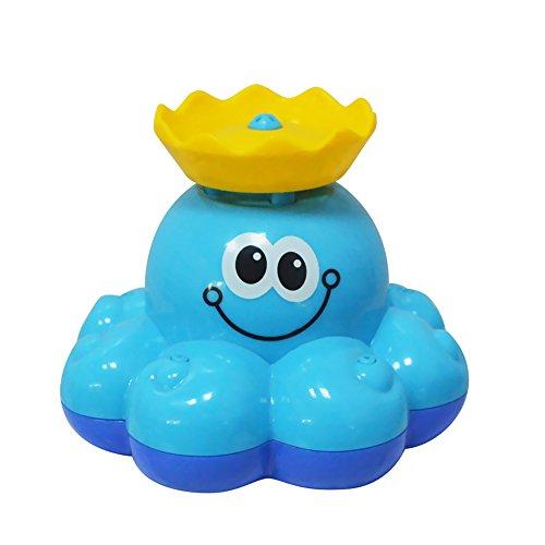 Meanhoo Baby Bath Toy ,Rotating Sprinkler Octopus Swim Toys for Kids Boys and Girls