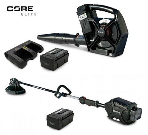 The ROP Shop CORE E400 & E420 Elite Trimmer & Leaf Blower 2-Battery 1-45-Minute Dual Charger For Sale