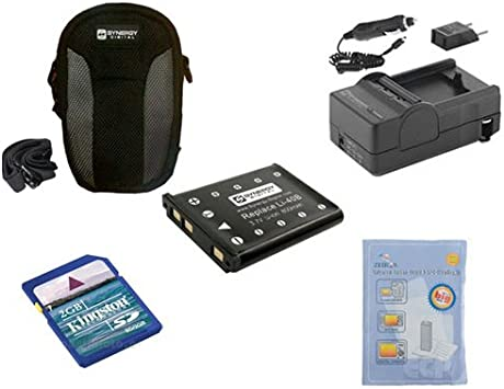 KSD2GB Memory Card SDM-141 Charger Olympus FE-5035 Digital Camera Accessory Kit Includes: SDLI40B Battery SDC-22 Case