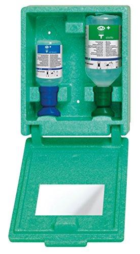 [Gesponsert]First Aid Only Augen-Notfallstation in staubdichter Wandbox, 1er Pack (1 x 1 Stück)