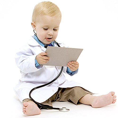 ALNIXU Childrens Lab Coat-Soft Touch -