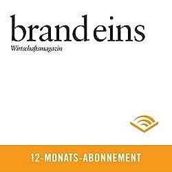 brand eins audio, 12-Monats-Abonnement