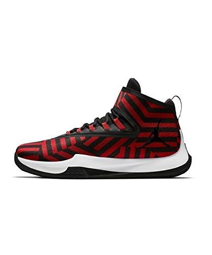 Nike Jordan Hommes Mouche Illimité Pfx, Gym Redblack-gym Rouge-noir Gym Redblack-gym Rouge-noir