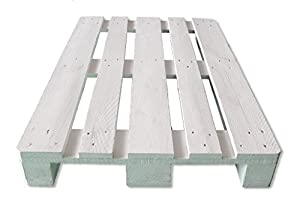 europalet white furniture pallet