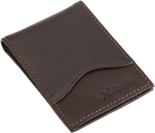 Columbia Men's Leather Slim Ft. Pocket Wallet
