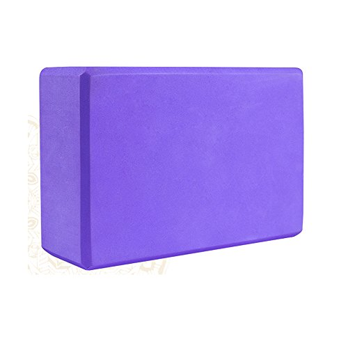 Aottop Exercise Yoga Blocks(set of 2) - High Density Foam Blocks - Lightweight, Odor Resistant and Moisture-Proof,Large Size 9