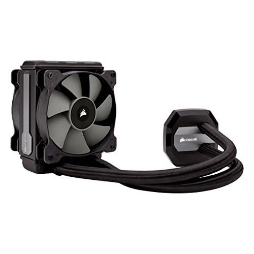 chollos oferta descuentos barato Corsair Hydro Series H80i V2 Sistema de Refrigeración Líquida Radiador de 120 mm un Ventilador SP120 PWM All in One Liquid CPU Cooler Negro