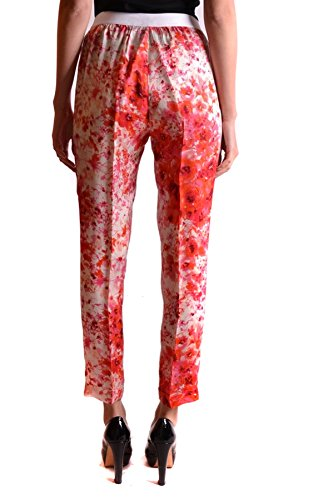 Twin-Set Pantaloni Donna MCBI302041O Poliestere Bianco/Rosso