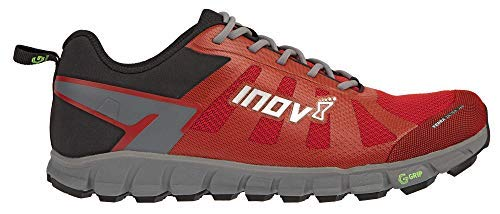 Inov-8 Womens Terraultra G 260 | Ultra Trail Running Shoe | Zero Drop | Perfect for Running Long Distances on Hard Trails and Paths | RED/Grey 9.5 W US by Inov-8