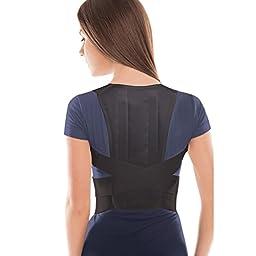 TOROS-GROUP Posture Corrector Brace – Back/Shoulder Support - Medium, Waist/Belly 31.5\