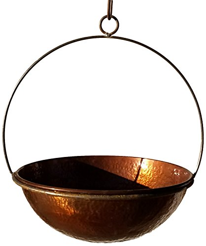 - Passage CH14-WOK-14-DHDC Hanging Planter, Hammered Copper