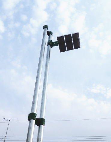 ソーラーLED外灯誘導灯庭園灯防犯灯ライト (GreenEnePole)HG6L-G-1Y【1年保証】 B00DBUYMCI 16200