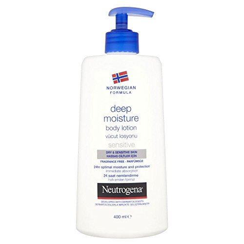 Neutrogena Norwegian Formula Deep Moisture Body Lotion - Dry & Sensitive Skin (400ml)