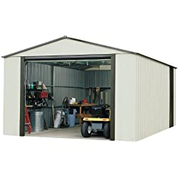 Storboss Vinyl Coated Murryhill Storage Shed, 12 by 17-Feet