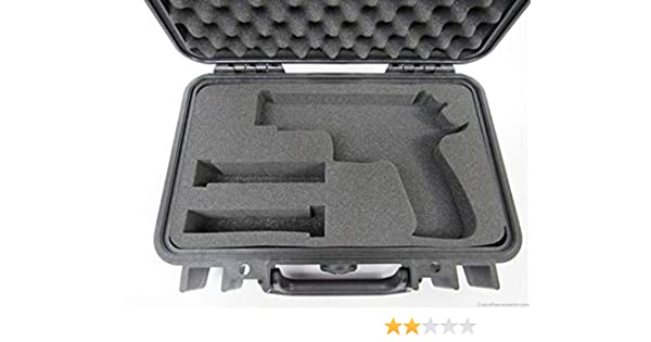 Cobra Foam Inserts Sig Sauer P226 Elite - Pistola y 2 revistas de Espuma Personalizadas para Estuche Pelican 1170 (Solo Espuma): Amazon.es: Deportes y aire libre