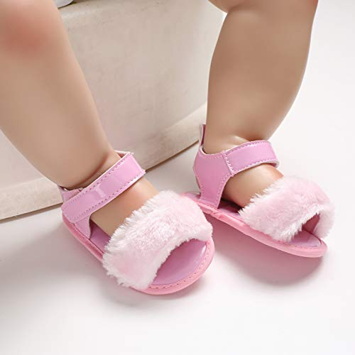 Baby Girls Sandals Flower Summer Shoes Soft Sole Infant Toddler Crib First Walker Shoes 2019