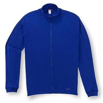 2524121d5 Ibex Giro Full-Zip Jersey - Long-Sleeve - Men s Bright Blue
