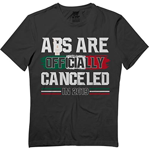 No Abs Needed - Mexican Boxer Ruiz Championship Funny Tshirt Black (Best Mexican Boxers 2019)