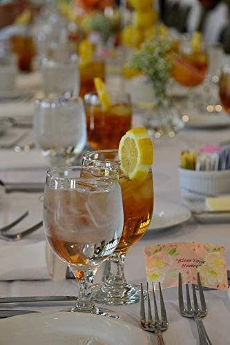 (Home Comforts Canvas Print Refreshing Tea Glass Sweet Tea Southern Vivid Imagery Stretched Canvas 10 x 14)