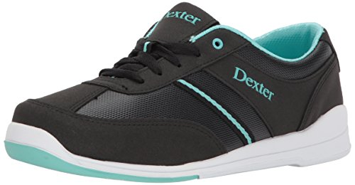 Dexter Dani Bowling Shoes, Black/Turquoise, 9.0