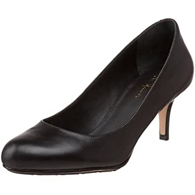 For Cheap Womens Shoes Cole Haan Juliana Ankle Strap Pump 75 Black Suede