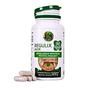 Detox 100% Natural ✔️ Aloe Vera ✔️Suplemento Alimenticio Para combatir El Estreñimiento ✔️ 90 capsulas