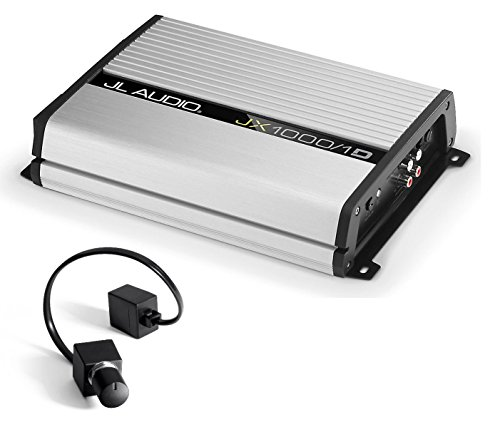 JL Audio JX1000/1D 1000 Watt RMS Monoblock Class D Car Amplifier With JL Audio RBC1 Remote Bass Control