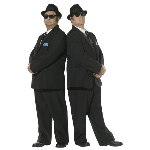Smiffys Officially Licensed Blues Brothers Costume For - Brothers The Blues Costume