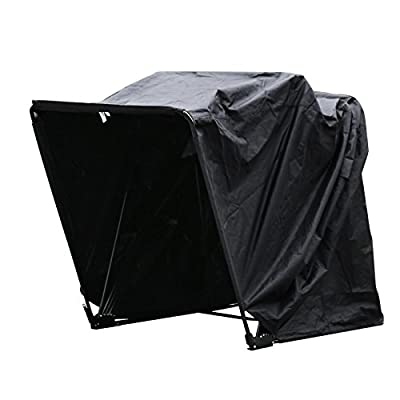 """Mophorn Motorcycle Shelter Shed Strong Frame Motorbike Garage Waterproof 106.5""""X41.5""""X61"""" Motorbike Cover Tent Scooter Shelter"""