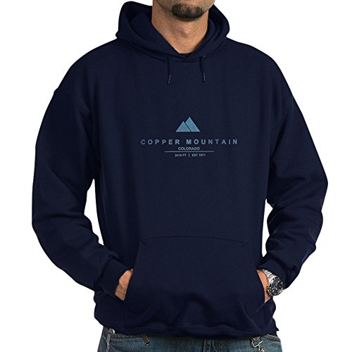 CafePress - Copper Mountain Ski Resort Colorado Hoodie - Pullover Hoodie, Classic & Comfortable Hooded - Copper Mountain Sweatshirt