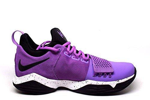 Nike Heren Pg 1 Heldere Vlolet / Zwart-wit