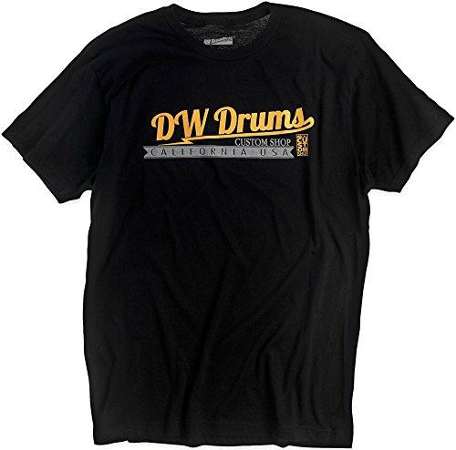 DW Custom Shop T-Shirt Medium (Workshop Shirt Drum)